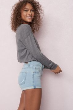 ff982ba2b6 138 Best Denim Shorts   Shorts en denim images