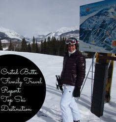 My pass works for 10 days here each year.. who is in?? Top Family #Ski Resort: Crested Butte