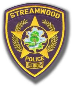 Streamwood Police Department patch.