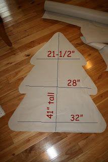 Felt Christmas Tree Pattren
