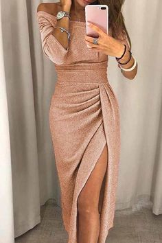 Plus Size Party Dresses, Party Dresses For Women, Party Kleidung, Evening Dresses, Prom Dresses, Casual Dresses, Smocked Dresses, Maxi Bridesmaid Dresses, Long Dresses