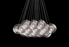 440219 – Nineteen Lamp Pendant with a Bouquet of Bulbs Cool Lighting, Pendant Lamp, Lamps, Bouquet, Bulb, Chandelier, Ceiling Lights, Bulbs, Candelabra