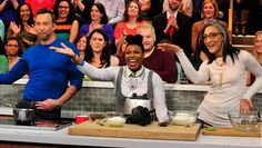Frozen Hot Chocolate Mousse Recipe by Carla Hall and Clinton Kelly - The Chew