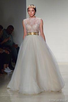 New York Bridal Fashion Week October 2015 Part 4 — Maggie Sottero, Yumi Katsura, Julie Vino, Pronovias, Eve of Milady   Wedding Inspirasi