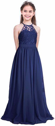 Junior Bride Dresses, Junior Formal Dresses, Wedding Dresses For Kids, Cheap Flower Girl Dresses, Girls Dresses, Flower Girl Dress Navy, Dress Formal, Flower Girls, Wedding Ideas