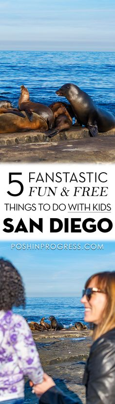 Here are my 5 favorite free things to do with kids in San Diego including Balboa Park, Bonita Cove, La Jolla Cove, and others. #travelwithkids #familytravel #SanDiego #california #LaJolla #tmom