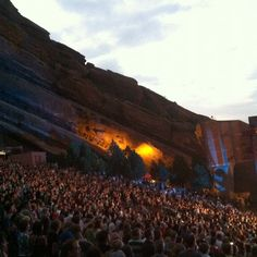 Red Rocks Colorado - My dream to see a concert there...