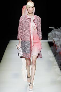 Giorgio Armani Spring 2016 Ready-to-Wear Fashion Show - Hannare Blaauboer