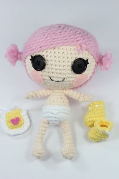 Lalaloopsy Crochet Patterns From Epickawaii  Doll House cakepins.com