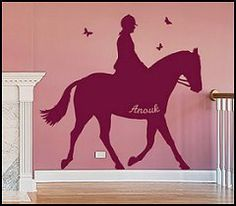 Art painted on the wall for bedroom 4