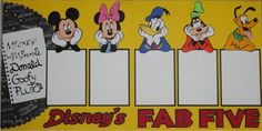 Just Duckie Designs: mickey and friends