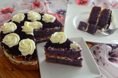 Ube Cake or Purple Yam Cake is one of Filipino famous dessert. We have variety of dessert in the Philippines that uses purple yam, like Ice Cream, Tarts, Swiss Roll, Cookies , Cakes and Jams. The v…