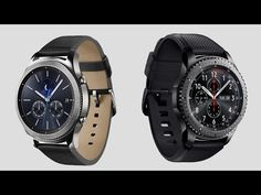 Samsung Gear S3 All FEATURES + Full REVIEW - Official Video   First Hand...
