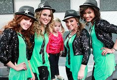 Good luck Charlie and Shake It Up Together