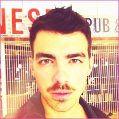 Joe Jonas Raises Money And Awareness For Prostate Cancer By Growing A Mustache