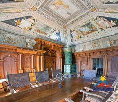 Piuro So - Lombardy North Italy - Sala di Giunone -  Stüa at Vertemate Franchi Palace in Piuro - Coordinate 46,3307° N  9,4217° E        Altitudine 382 m s.l.m.  www.palazzovertemate.it