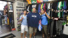 【新宿2号店】2014.05.25 アメフト部の皆さんです(^^♪ライオンズのTシャツを購入して頂きました!皆さんのご来店お待ちしております~☆ #nfl