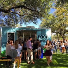 Mobile food on campus? Yup. Anderson High opens their on campus trailer today. #foodtrailer by foodtrailersatx
