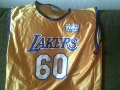 6f007ca6a6c Promotional 1948-2008 NBA Los Angeles Lakers 60th Anniversary Jersey -  Adult XL  NBAHouseBrand