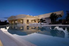 House With Marble Exteriors Designed By A-Cero In Pozuelo de Alarcón, Madrid | #marble #house #design #architecture