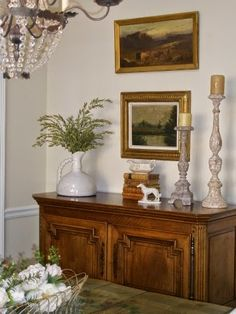 Belle Francaise Interiors  Finish on the candlesticks