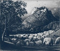 The Flock and the Star - Samuel Palmer