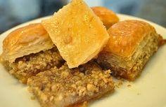 Manger Turc - La cuisine turque: BAKLAVA AUX NOIX