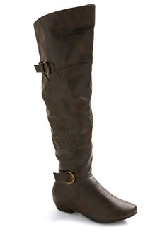 Deck yourself out for cold weather with unique women's boots from ModCloth. Choose from women's booties, duck boots and more! Shoes Heels Boots, Heeled Boots, Modcloth Shoes, New Arrival Dress, Cute Boots, We Wear, Brown Boots, Over The Knee Boots, Me Too Shoes
