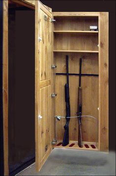 pallet wood gun rack