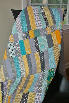 Candy Coated quilt by freshlypieced, via Flickr