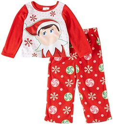 Elf on the Shelf pajama photos are so cute!