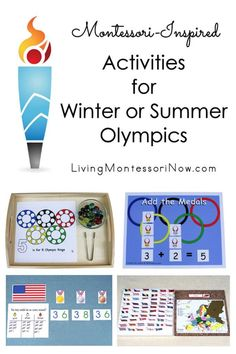 Here you'll find a variety of blog posts with Montessori-inspired activities for Winter or Summer Olympics - Living Montessori Now Preschool Themes, Learning Activities, Free Summer, Summer Fun, Homeschool Curriculum, Homeschooling, Olympics Opening Ceremony, Winter Activities For Kids, Character Education