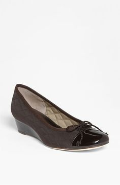 French Sole 'Deluxe' Wedge Pump available at #Nordstrom