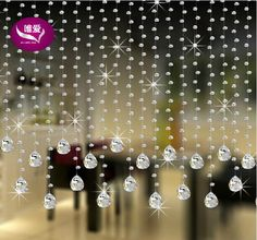 1string Of 1meter Can Be Customized Octagonal Crystal Beads Windows Partition Door Porch Decoration #Crystal Bead Curtain# From Springquan, $7.33 | Dhgate.Com Boho Curtains, Beaded Curtains, Windows Partition, Crystal Beads, Crystals, Porch Decorating, Bright Colors, Delicate, Doors