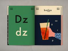 + Letter dz Hungarian alphabet book -available for any design enthusiast on Blurb!