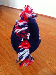 72c12923c74 Items similar to NFL football handmade crochet Mohawk hat made to order  winter accessory on Etsy
