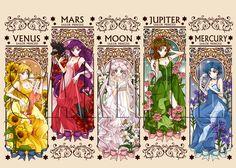 【再販】Moonlit Crystal by 花雨 Sailor Moon