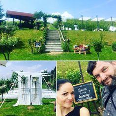 """What a day  Die Weddingsaison hat nun auch bei mir gestartet! Awesome Team Der """"Unmuthige"""" Fotograf  #weddingsaison2018 #weingutholler #spielberg #styria #awesomeplace #heirateninösterreich #hochzeit #lovemyjob by kacy - makeup & photo"""