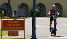 Rick Hermelin, a former active duty Marine jumped on his cross training running machine, the ElliptiGO, and in 100 days raised awareness and funds for the Semper Fi Fund,a 501(c)(3) nonprofit set up to provide immediate financial support for injured and critically ill members of the U.S. Armed Forces and their families.