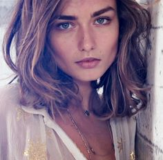 Andreea Diaconu. Model at H&M Lookbook photoshoot. Spring 2014. Watch and pin: http://www.youtube.com/watch?v=VDsLMLjVsD8 #hmss14