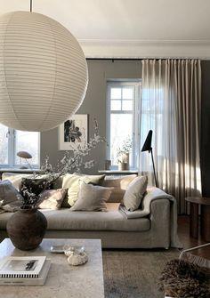Apartment Interior, Living Room Interior, Home Interior Design, Living Room Decor, Small Cozy Apartment, Apartment Living, Beddinge, Beige Living Rooms, Beautiful Home Designs