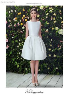 Abito da #sposa corto di #Blumarine! http://www.danielasposa.it/sposa/blumarine-sposa/ #weddingdress #danielasposa
