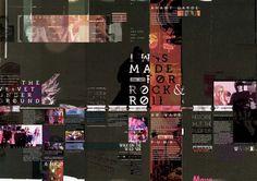Editorial Lou Reed / FADU-U.B.A on Behance