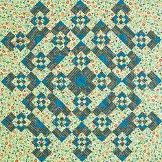 Associate Editor Paula Stoddard made this version. Fabric: Stitch by Betz White for Robert Kaufman; robertkaufman.com.