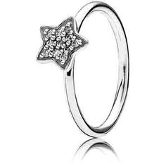 This ring is perfect for either stacking or standing on its own. Wear it as a center-piece or as a color enhancer when stacked with other rings. Nothing says you're a rock star more than this sterling silver ring with 11 pave-set clear cubic zirconias. 190891CZ