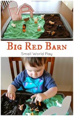 Minne-Mama: Big Red Barn Play