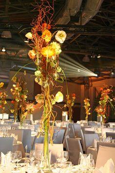 Tischdekoration - Eventdekoration für Jahresversammlung Signal Iduna