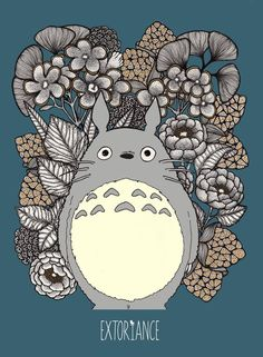 Totoro by Extoriance by extoriance.deviantart.com on @DeviantArt