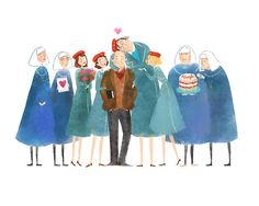 jana christy illustrations | Call the Midwife