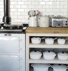 Ooohhh all the le creuset.  I want!